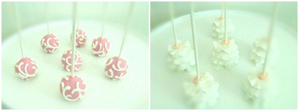 bridal cakepops